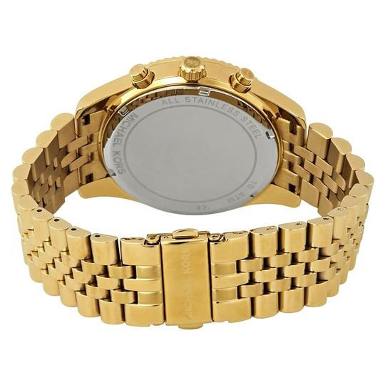 Michael Kors Stainless Steel Pave Crystal Chronogaraph Lexington MK8494 Image 6