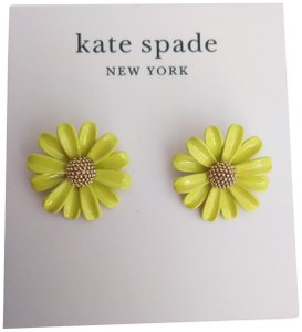 Kate Spade Kate Spade New Yellow Daisy Earrings