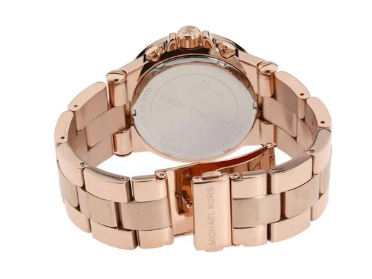Michael Kors Dylan Stainless Steel Baguette Crystal Chronograph MK5412 Watch Image 7