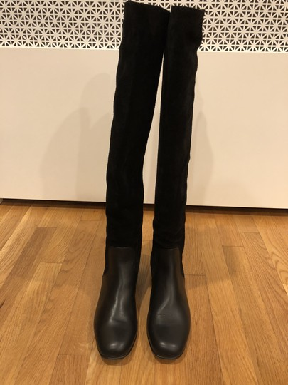 Gucci Black Suede and Leather Boots Image 1