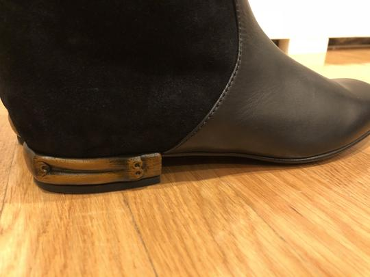 Gucci Black Suede and Leather Boots Image 6