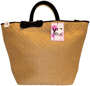 Bath and Body Works Straw Tote in Tan