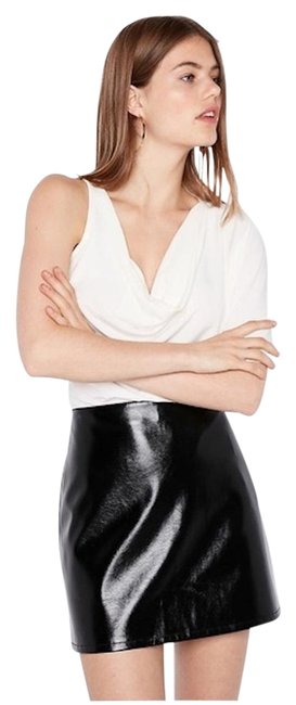 Item - Black High Waisted Clean A-line Skirt Size 4 (S, 27)