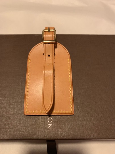 Louis Vuitton luggage,speedy, suitcase name/address tag initial YT Image 1