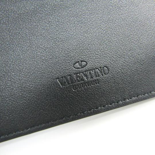 Valentino Valentino Garavani Lock Studs RW9P0523VH3 Leather Card Case Black Image 5
