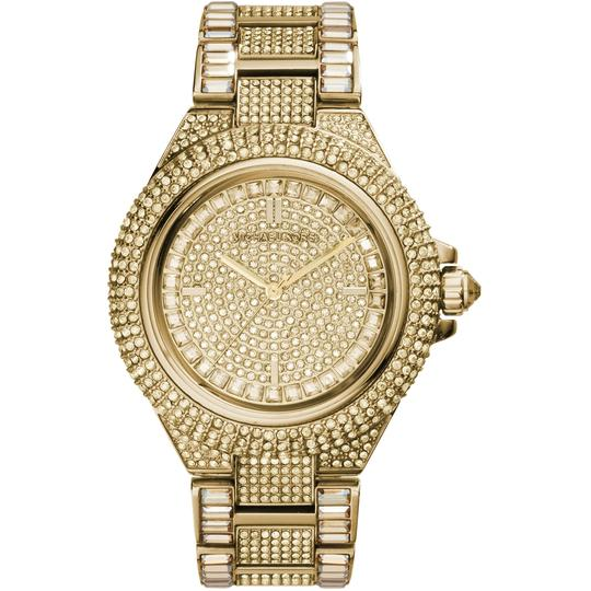 Michael Kors Michael Kors Women's Camille Gold Pave Dial Crystal Encrusted MK5720 Image 3