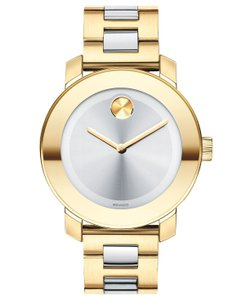 Movado Bold Two Tone Stainless Steel 3600129