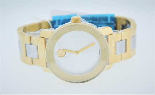 Movado Bold Two Tone Stainless Steel 3600129 Image 10