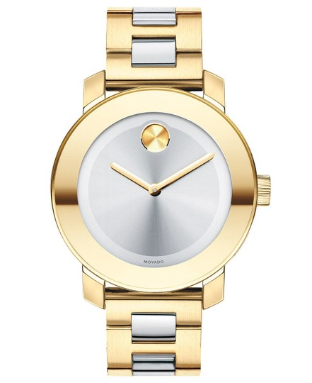 Movado Bold Two Tone Stainless Steel 3600129 Image 8