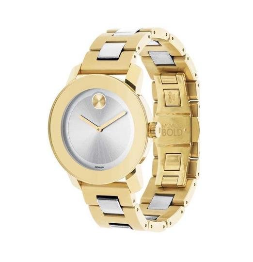 Movado Bold Two Tone Stainless Steel 3600129 Image 9