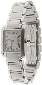 Cartier Mint Ladie's Cartier Tank Francaise 2384 SS 20mm Quartz Watch