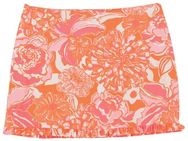 Item - Orange Mini Skirt Size 00 (XXS, 24)
