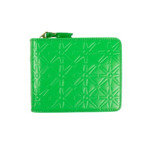 COMME des GARÇONS Leather Star Cardholder Zip Around Wallet