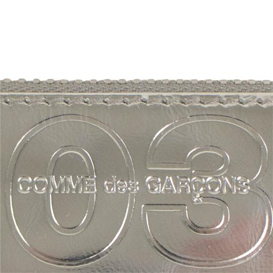 COMME des GARÇONS Leather Number Embossed Wallet Pouch Image 4