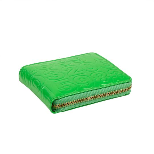 COMME des GARÇONS Leather Number Embossed Small Wallet Image 3