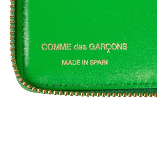COMME des GARÇONS Leather Number Embossed Small Wallet Image 4