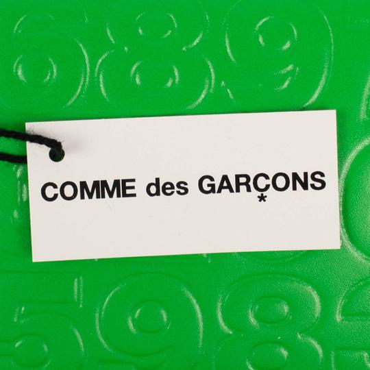 COMME des GARÇONS Leather Number Embossed Small Wallet Image 5