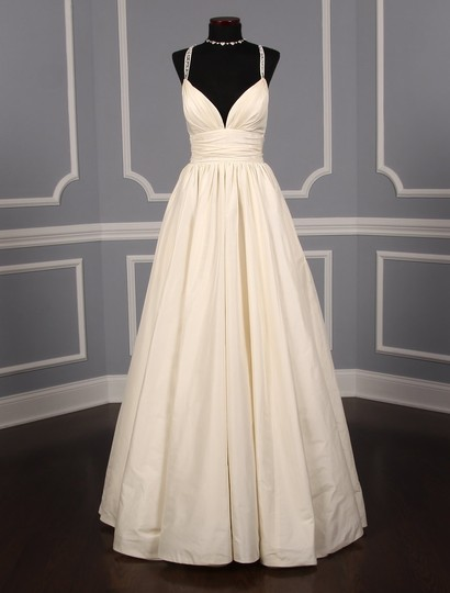 Preload https://img-static.tradesy.com/item/25910067/lea-ann-belter-ivory-silk-taffeta-madeleine-formal-wedding-dress-size-6-s-0-0-540-540.jpg