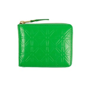 COMME des GARÇONS Leather Star Embossed Small Wallet