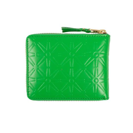 COMME des GARÇONS Leather Star Embossed Small Wallet Image 1