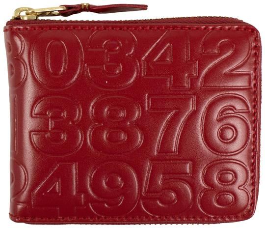 Preload https://img-static.tradesy.com/item/25910283/comme-des-garcons-red-leather-number-embossed-slim-wallet-0-1-540-540.jpg