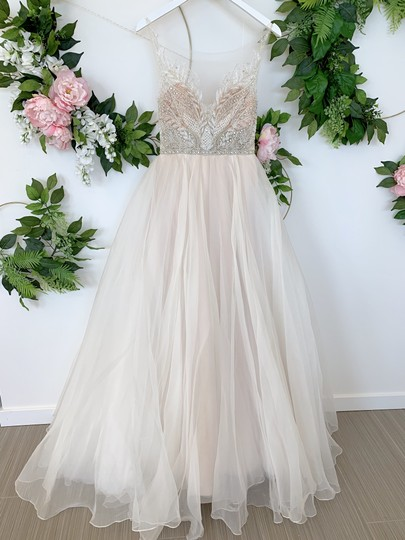 Preload https://img-static.tradesy.com/item/25910300/watters-and-watters-bridal-ivorycashmere-silk-organza-mihr-modern-wedding-dress-size-4-s-0-1-540-540.jpg