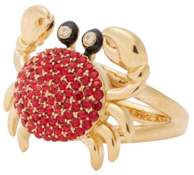 Item - Red/Gold Shore Thing Pave Crab Ring
