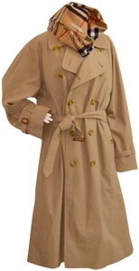 Burberry Mens Zip Out Lining 12-14 Women Trench Coat