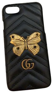 Gucci Gucci butterfly leather iphone 7 case cover