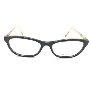 Burberry Burberry Cat Eye Black Gold 3507 Rx Eyeglasses