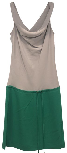 Item - Gray/Green Short Casual Dress Size 2 (XS)