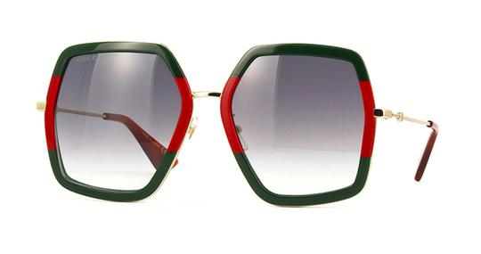 Gucci Large Style gg0106S 007 - FREE 3 DAY SHIPPING Oversized Image 1