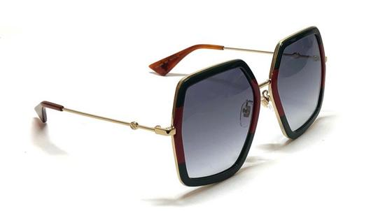 Gucci Large Style gg0106S 007 - FREE 3 DAY SHIPPING Oversized Image 4