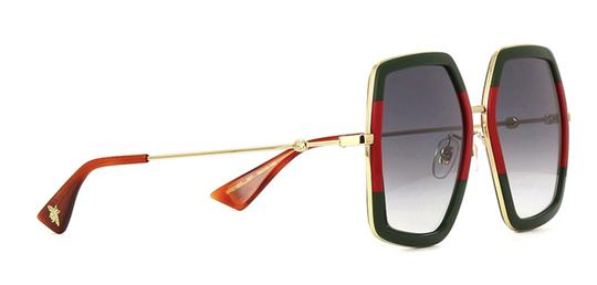 Gucci Large Style gg0106S 007 - FREE 3 DAY SHIPPING Oversized Image 5