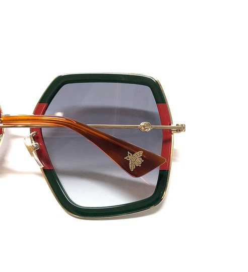 Gucci Large Style gg0106S 007 - FREE 3 DAY SHIPPING Oversized Image 6