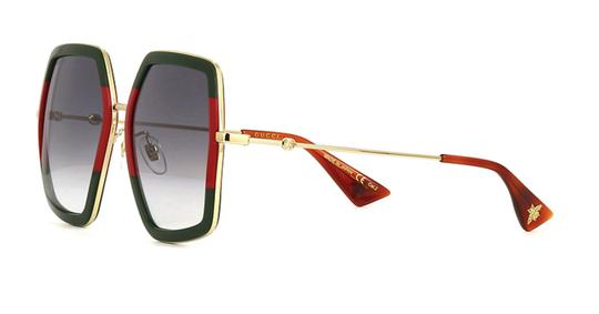 Gucci Large Style gg0106S 007 - FREE 3 DAY SHIPPING Oversized Image 7