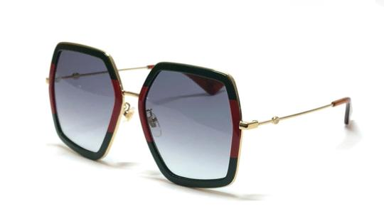 Gucci Large Style gg0106S 007 - FREE 3 DAY SHIPPING Oversized Image 8