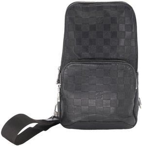 Louis Vuitton Monogram Damier Ebene Azur Alma Crossbody Backpack