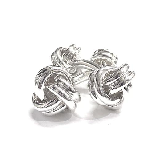 Tiffany & Co. LIKE NEW!!! NEVER WORN!!! Tiffany & Co. Double Knot Cufflinks Image 1