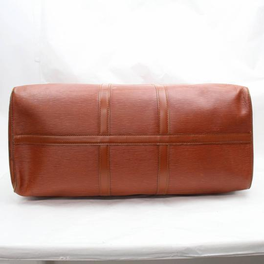 Louis Vuitton Leather brown Travel Bag Image 1
