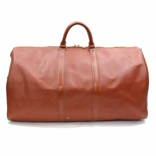 Louis Vuitton Leather brown Travel Bag Image 10