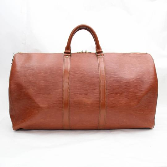 Louis Vuitton Leather brown Travel Bag Image 11