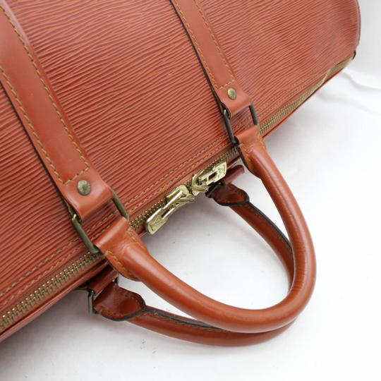 Louis Vuitton Leather brown Travel Bag Image 4