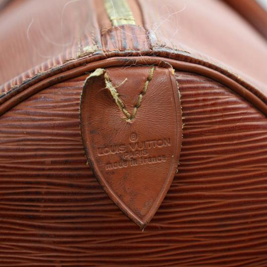 Louis Vuitton Leather brown Travel Bag Image 6
