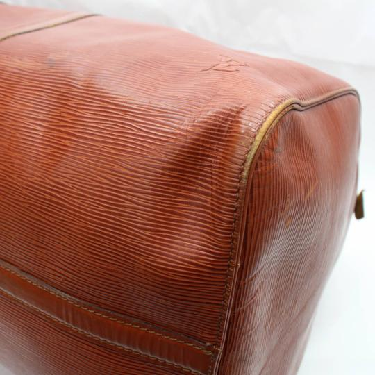Louis Vuitton Leather brown Travel Bag Image 7