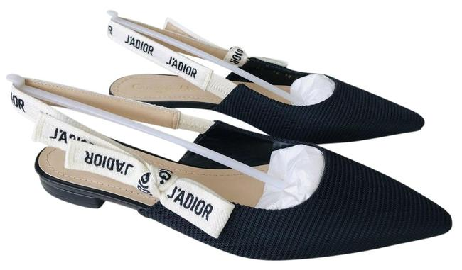 Item - Black Fabric Textured Technical Canvas Slingback Flats Size EU 35.5 (Approx. US 5.5) Regular (M, B)