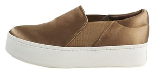 Vince Sneakers Platform Fawn Silk Satin Athletic