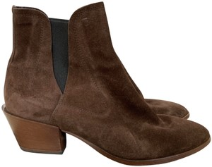 Tod's Suede Chelsea Stretch Brown Boots