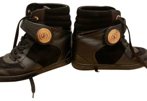 Louis Vuitton Black with Gold Athletic