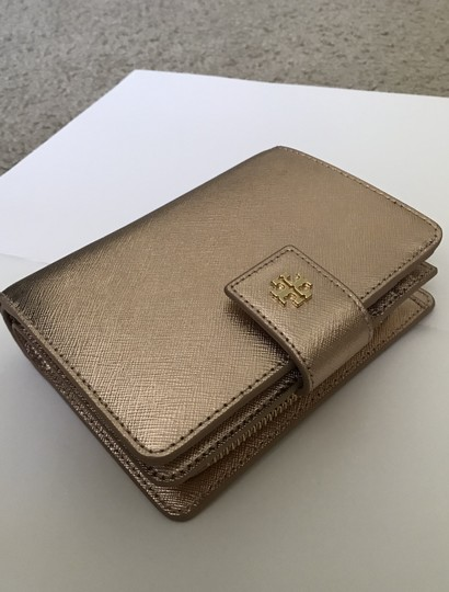 Tory Burch Robinson French Fold Wallet Saffiano Leather Image 1